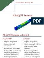 ABAQUS Tutorial Example Presentation