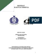 Referat Penatalaksanaan Open Fracture (1)