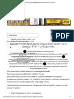 Laporan Harian Patroli Gabungan Satpol Pp Kec Tambora 26 Mei 2018