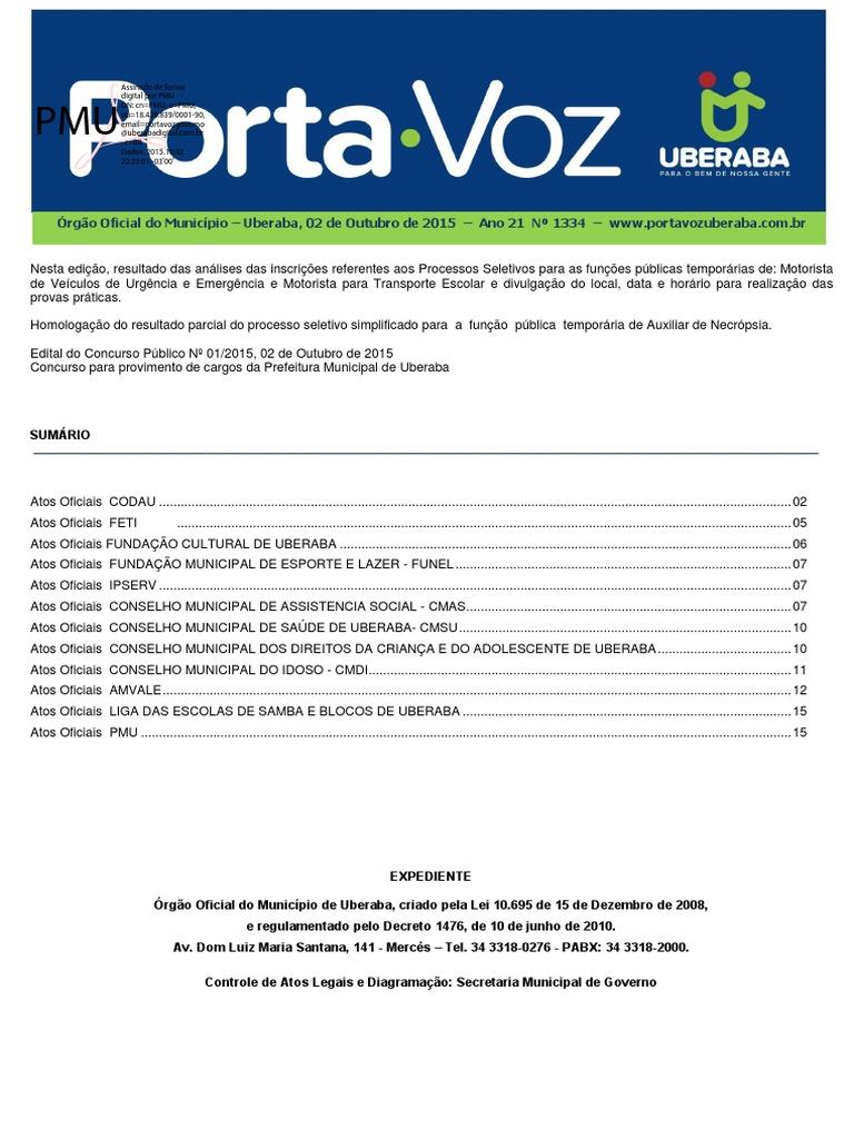 Edital Prefeitura de URA 2015 52e0a89c0b