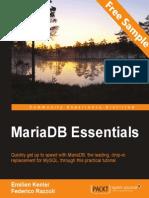 MariaDB Essentials - Sample Chapter