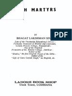 Sikh Martyrs - Bhagat Lakshman Singh