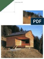 C8 Bearth & Deplazes, Chalet à Rageth, Grisons, Suisse, 1999