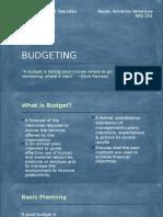 Budgeting (Nursing Department)