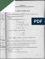 Analiza Matematica- Facultate Management, anul 1-Aplicatii Rezolvate