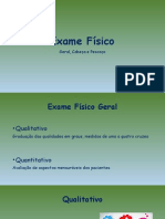 Aula EMA - Exame Físico