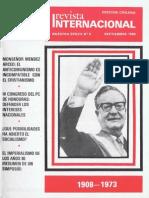 Revista Internacional - Nuestra Epoca N°9 - Edición Chilena - Septiembre 1986