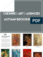 Cheshire Art Agencies - Autumn Brochure 2015