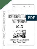 Invitación a la Zarzuela -Teruel-