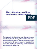 Harry Coumnas - African Astronomer and Scientist