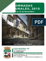 Jornadas Culturales de la Casa de Extremadura de Coslada 2015