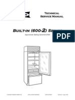 600 2 Sub-Zero Built-In Series Refrigerator Service Manual