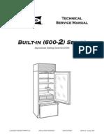 600 2 Sub-Zero Built-In Series Refrigerator Service Manual