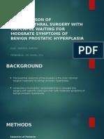 Transurethral Surgery