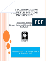 Tax Planning Atas Struktur Inbound Investment