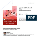 Adobe Acrobat Pro x Para La Oficina