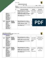 Planificación Diaria Abril, Reforzamiento, Octavo Básico 2014, Paola Armijo - Copia