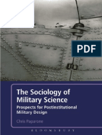 Colonel (US Army Ret.) Chris Paparone-The Sociology of Military Science_ Prospects for Postinstitutional Military Design-Bloomsbury Academic (2012)