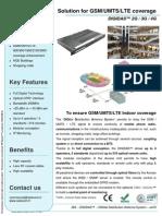 SELECOM - DIGIDAS™ - Digital Distribution Antenna System 2G 3G 4G GSM UMTS LTE