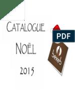Catalogue Bexeb . Noël 2015