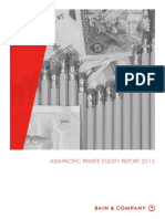 REPORT Bain and Company Asia-Pacific Private Equity Report 2015