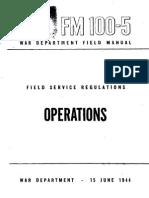 FM 100-5 Operations (1944)