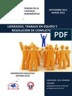 Modulo de Liderazgo Trabajo en Equipo y Resolucion de Problemas
