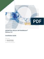 SAP AEDAPTIVe AS2 3.0 Installation Guide