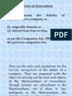 3 Articles of Association