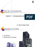 Sesion 7 Componenetes de La Red