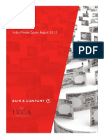 BAIN-REPORT India Private Equity Report 2015