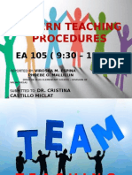 Team Teaching Report