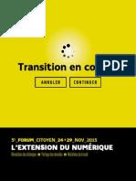 5e Forum citoyen 2015 Grand Poitiers