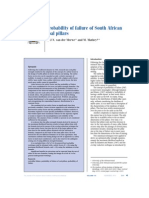 Van Der MERWE_Probability of Failure of South African Coal Pillars