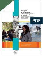 Study in Inter. Master Programs 2014 BD