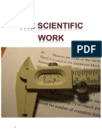 The scientific work