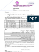 B.tech. Suppl Notification JNTU HYDERABAD(2010)-jntuforum