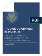 Third US Open Government National Action Plan