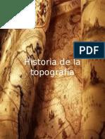 Historia de La Topografía
