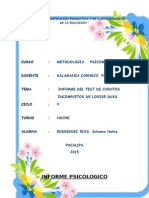 Informe Psicologico de Cuentos Salamanca
