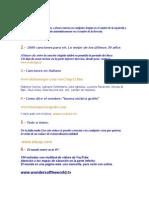 Paginas WEB Con Tips Varios 2011