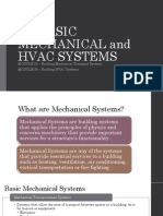 11. Basic Mechanical and HVAC Systems