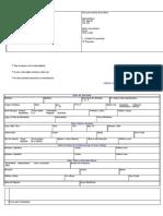 Planilla de Solicitud - Credito Efectivo - Banco Exterior - Notilogía