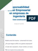 Presentación 6. Responsabilidad Social Empresarial en Empresas de Ingeniería-Ing. Paola Rojas