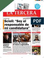 Diario La Tercera 28.10.2015