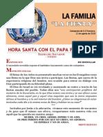 HORA SANTA CON EL PAPA. La Familia. La Fiesta (21)