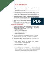 Partnership Law Notes