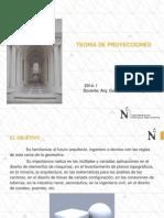 UPN 2015-2 Teoria de Proyecciones