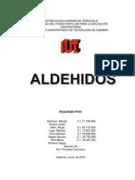 ALDEHIDOS QUMICA ORGANICA