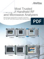 World's Most Trusted Family of Handheld RF and Microwave Analyzers